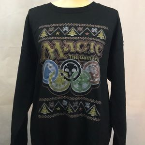 Magic The Gathering Christmas Sweater Size L/G